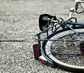bicycle on the ground