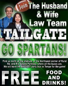 Breyer Law Offices, P.C. tailgate party
